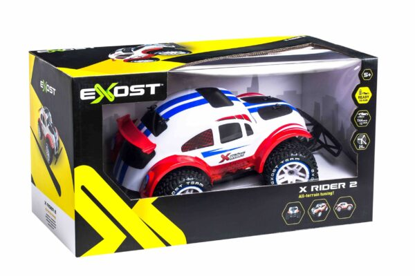 Exost X rider förpackning