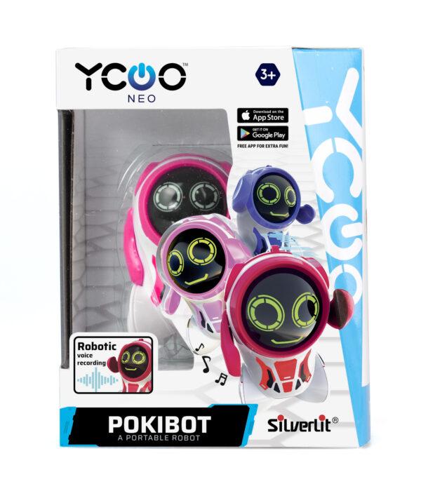 Pokibot rosa förpackning