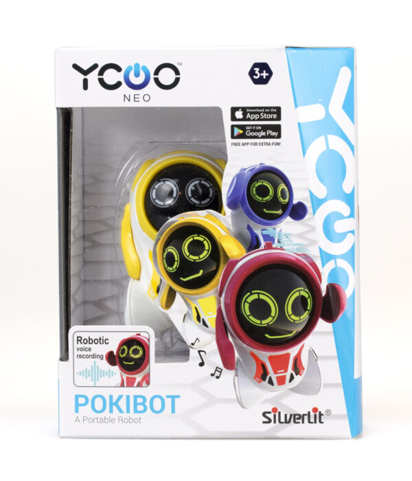 Pokibot gul förpackning