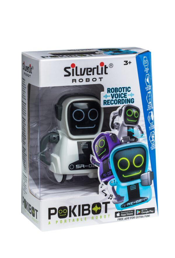 Pokibot förpackning vit