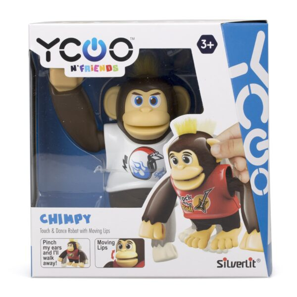 Silverlit Chimpy vit förpackning