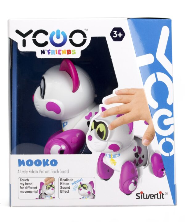 Silverlit Mooko robotkatt förpackning