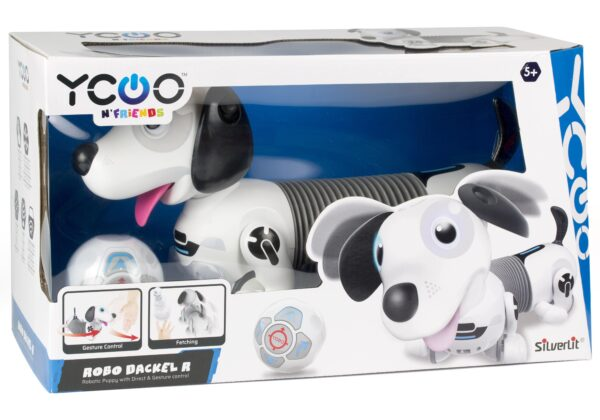 Silverlit Robo Dackel robothund förpackning