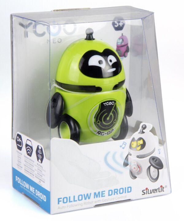 Silverlit Follow Me droid grön förpackning