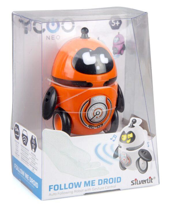 Silverlit Follow Me droid förpackning orange