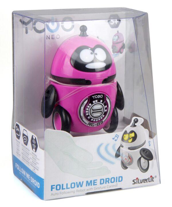 Silverlit Follow Me droid förpackning rosa