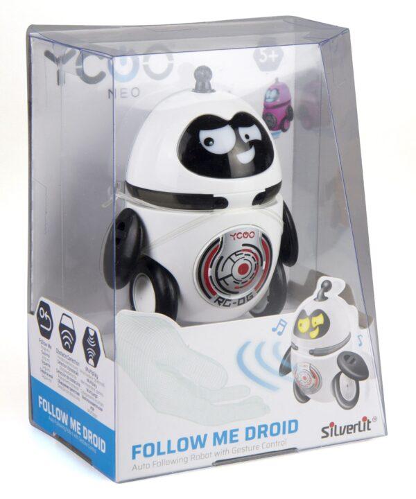 Silverlit Follow Me droid vit