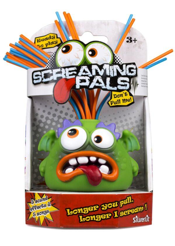 Screaming Pals förpackning