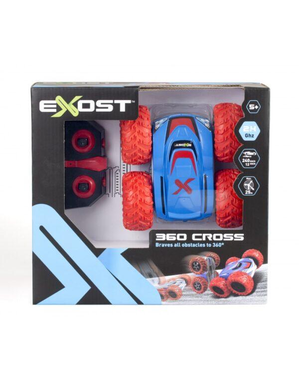 Exost 360 cross ny modell förpackning