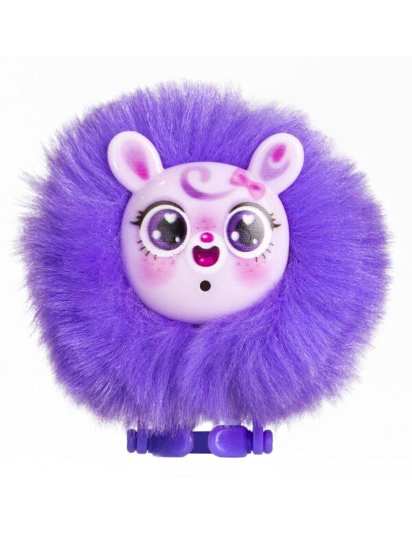 Silverlit Baby Furries lila med rosa ansikte