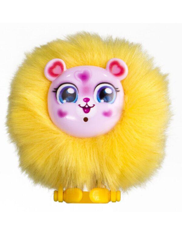 Silverlit Baby Furries gul med rosa ansikte