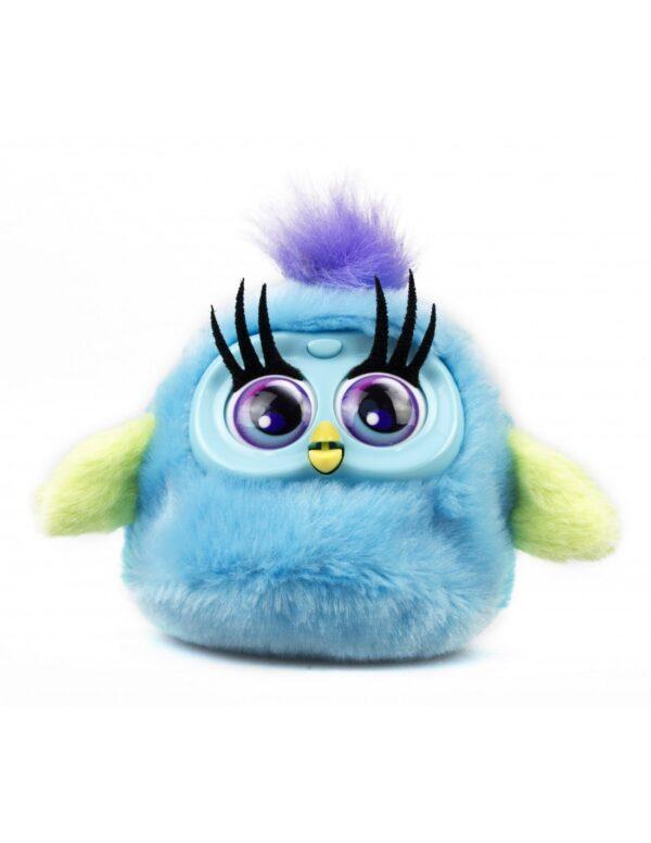 Fluffy Birds blå