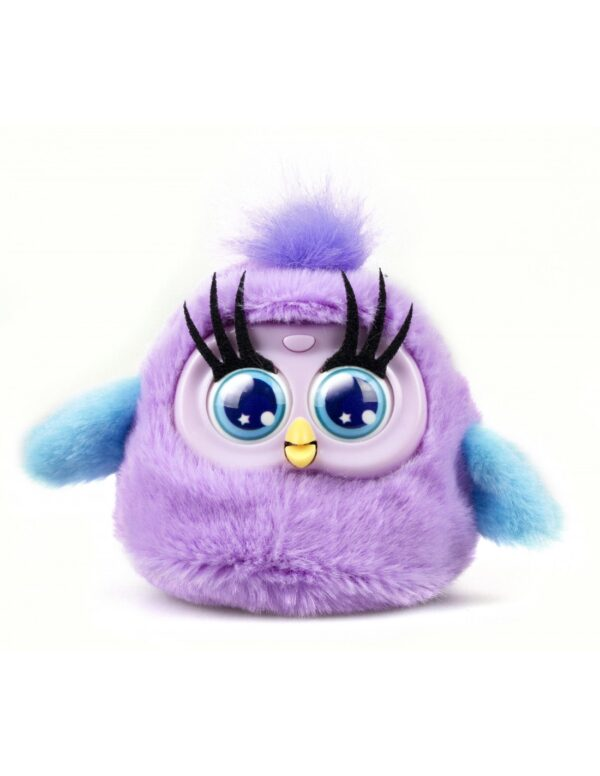 Fluffy Birds lila