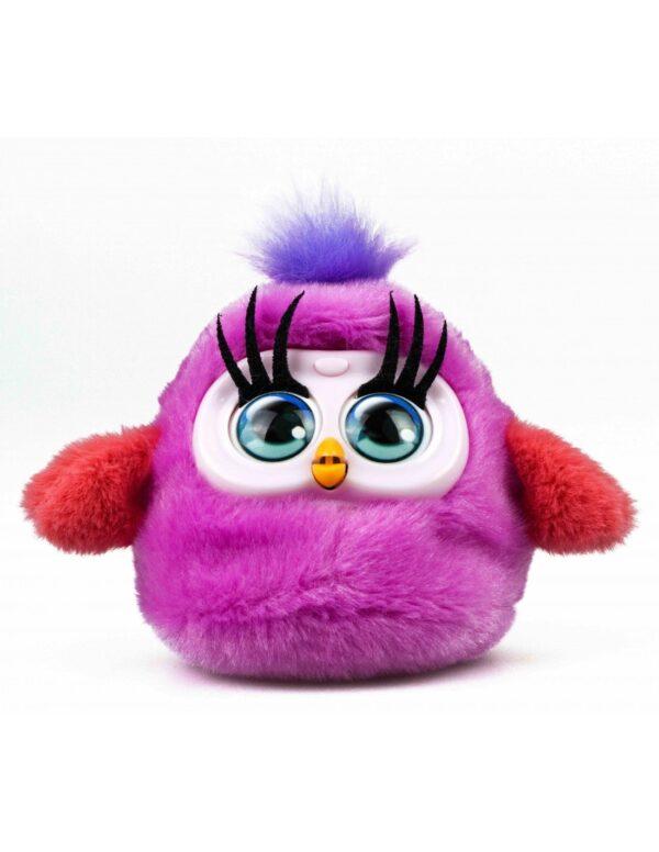 Fluffy Birds mörkrosa