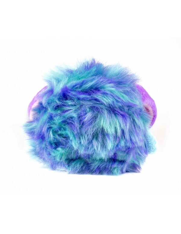 Fluffy Bot blå baksida