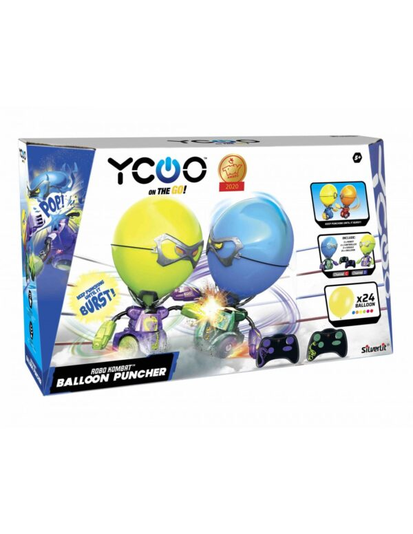 Robo Kombat Balloon Puncher förpackning