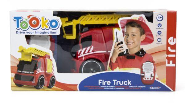 Silverlit radiostyrd brandbil förpackning