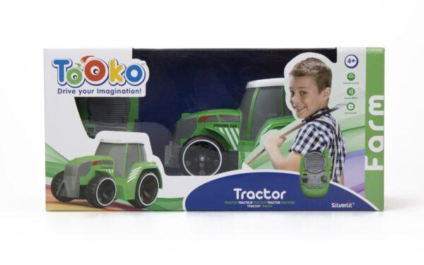 Radiostyrd traktor silverlit förpackning