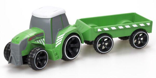 Radiostyrd traktor med flak från Silverlit