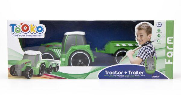 Radiostyrd traktor från Silverlit