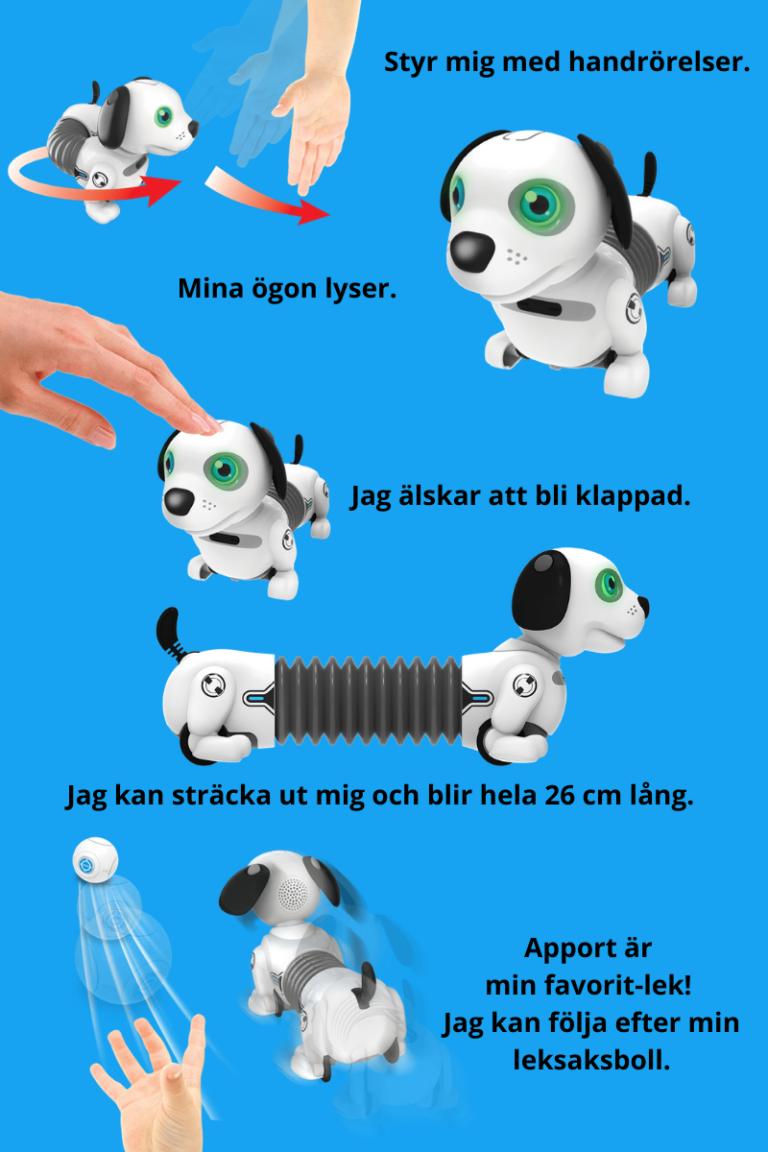Robo Dackel Jr robothund Silverlit