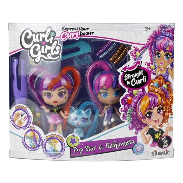 CurliGirls 2 pack förpackning