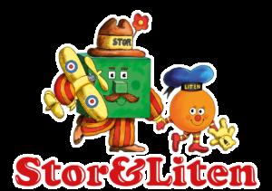 Stor och liten logotyp