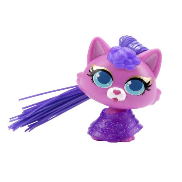 Silverlit CurliPets rosa katt