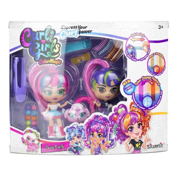 CurliGirls colormagic 2-pack förpackning